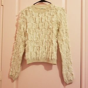 Urban outfitters feather long sleeve